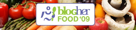 BlogHer Food '09 banner