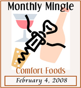 Monthly Mingle, Comfort Foods
