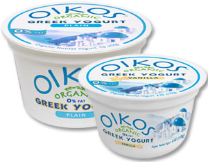 Stonyfield Farm Oikos Organic Greek Yogurt