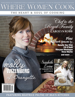 Where Women Cook cover, Spring 2011