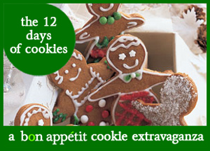 Andrea's Recipes - The 12 Days of Cookies, A Bon Appetit Cookie Extravaganza