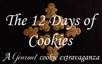 Andrea's Recipes - 12 Days of Cookies Logo