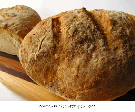 Asiago No-Knead Bread