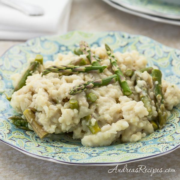 Andrea Meyers - Asparagus Risotto