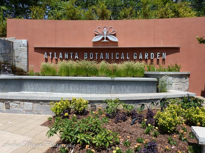 Atlanta Botanical Garden entrance - Andrea Meyers