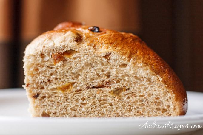 Andrea's Recipes - BBA Challenge: Christopsomos (crumb)