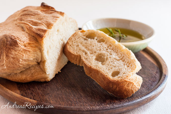 Andrea Meyers - BBA Challenge, ciabatta with olive oil