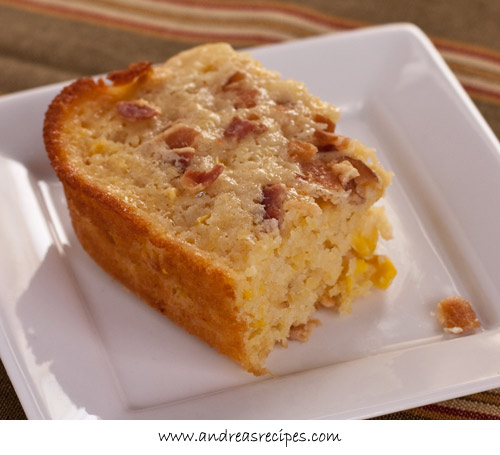 Andrea Meyers - BBA Challenge: Cornbread with Bacon