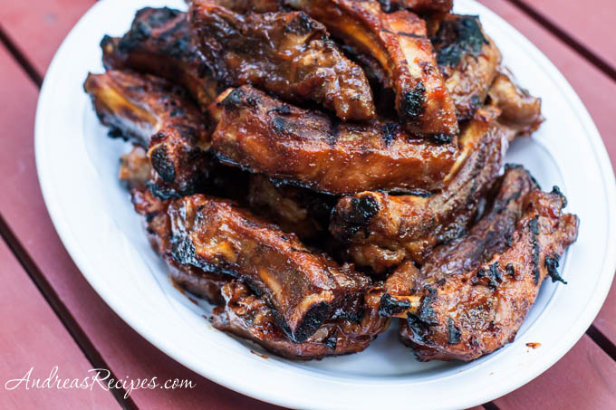Andrea's Recipes - Barbecued Ribs