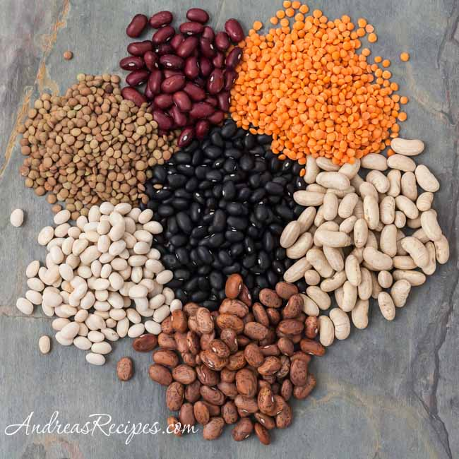 Andrea Meyers - Beans and lentils