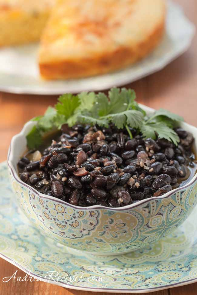 Spicy Black Beans and Ham - Andrea Meyers