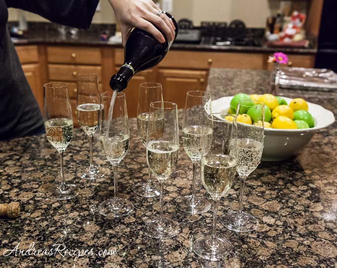 Andrea Meyers - Pouring Prosecco