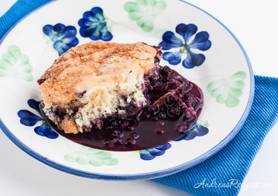 Andrea Meyers - Blueberry Pudding Cake