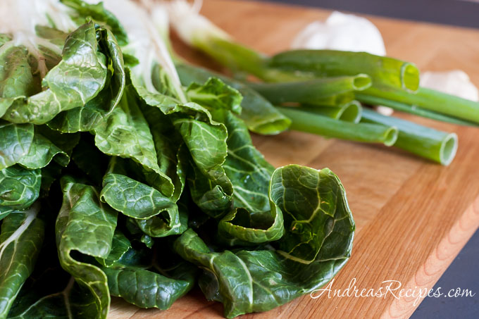 Andrea's Recipes - bok choy