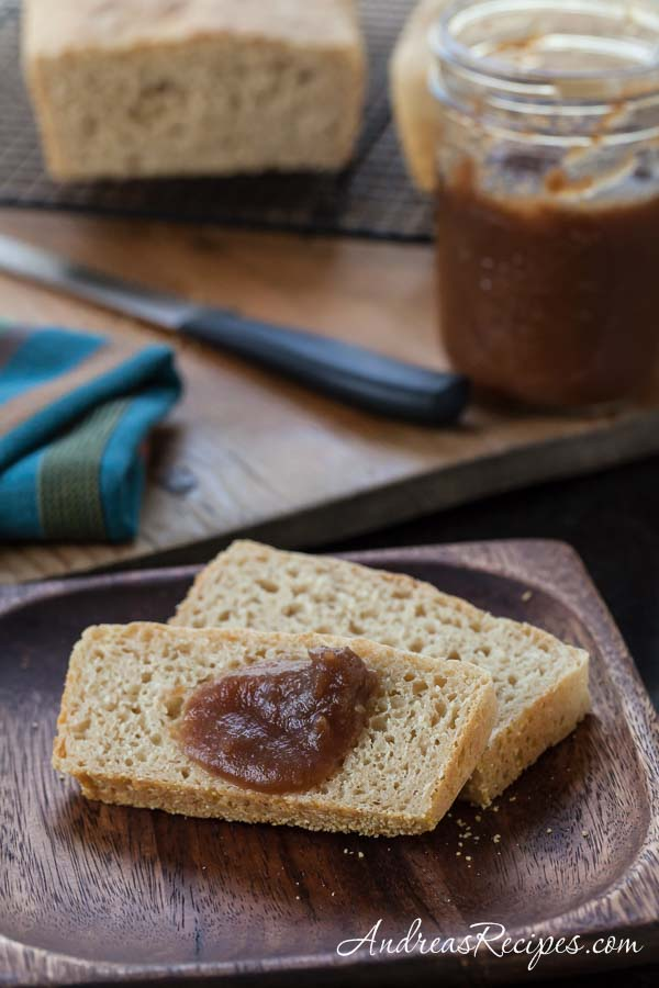 Honey Wheat English Muffin Bread - Andrea Meyers