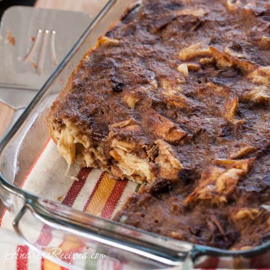 Cool Lawn Farm: On a Warm December Day (Apple Butter Bread Pudding Recipe)