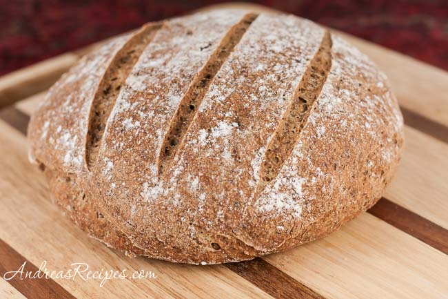 Andrea Meyers - Whole Wheat and Flaxseed Bread