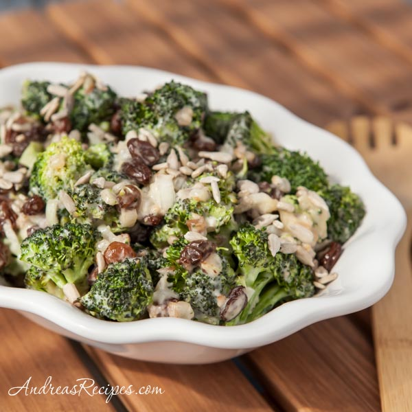 Andrea Meyers - Broccoli Raisin Salad