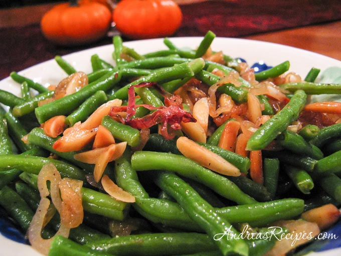 Andrea Meyers - Brown Butter Green Beans