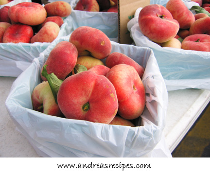 Andrea's Recipes - Donut Peaches at the Central New York Regional Market, Syracuse