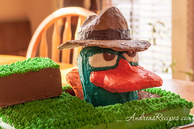Andrea Meyers - Agent P, aka Perry the Platypus Birthday Cake