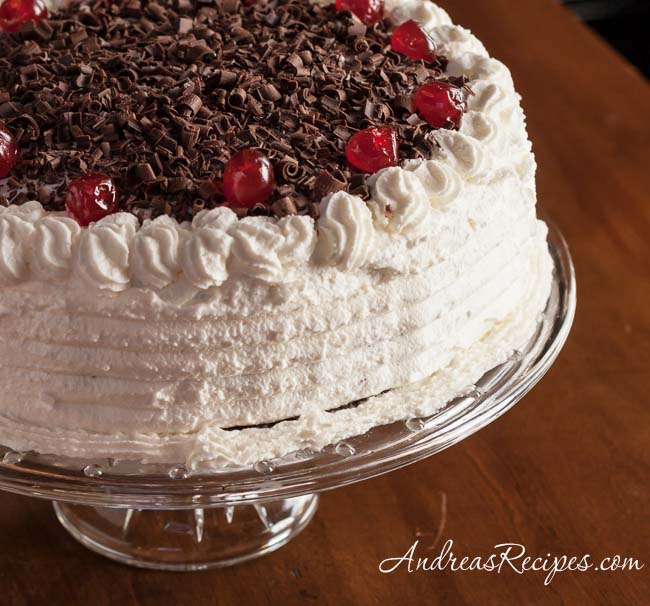 Andrea Meyers - Black Forest Cake (Schwarzwälder Kirschtorte)
