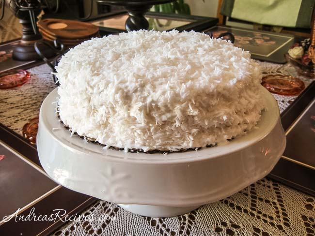 Andrea Meyers - Grandma's Coconut Cake