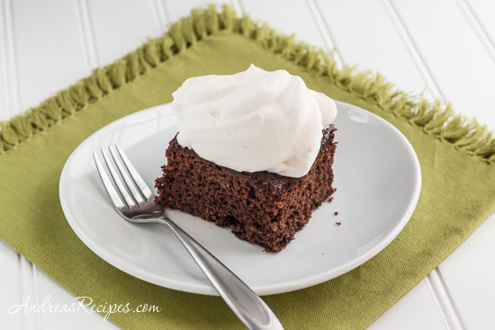 Andrea Meyers - Guinness Gingerbread Cake