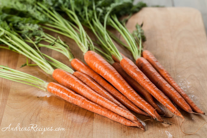 Carrots with tops - Andrea Meyers
