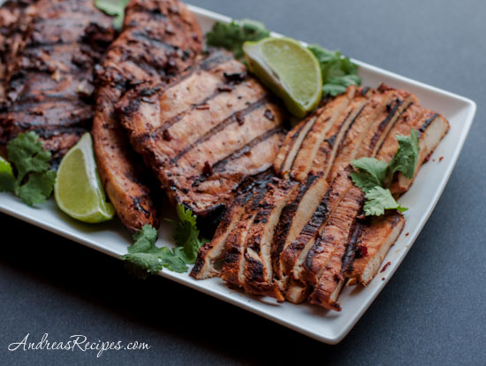 Andrea's Recipes - Grilled Chicken Adobo (Pollo Adobado)