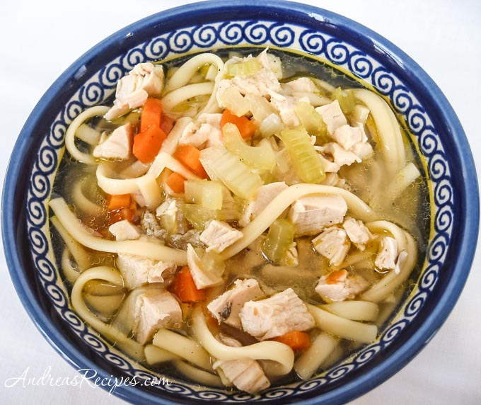 Get Well Chicken Noodle Soup