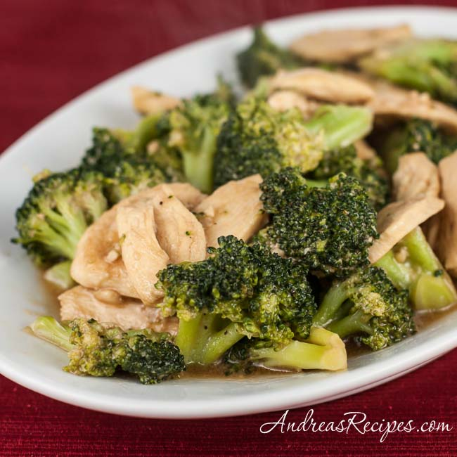 Chinese Chicken and Broccoli - Andrea Meyers