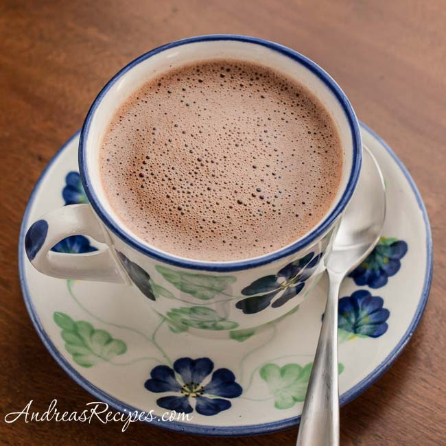 Andrea Meyers - Colombian Hot Chocolate