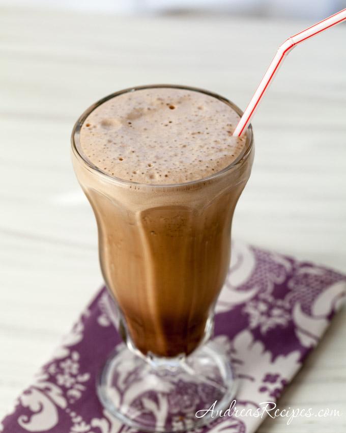 Iced Mocha Cappuccino - Andrea Meyers