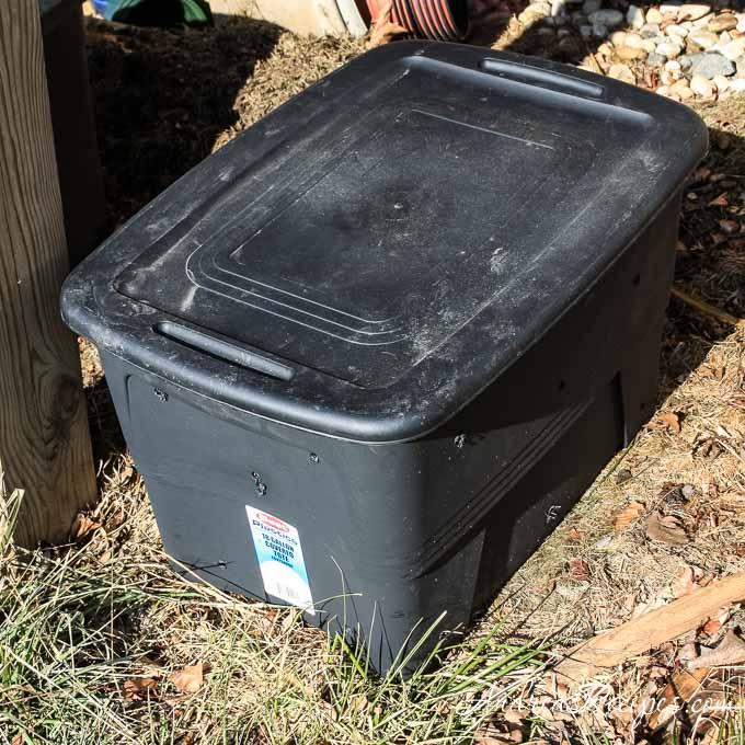 Andrea Meyers - compost bin