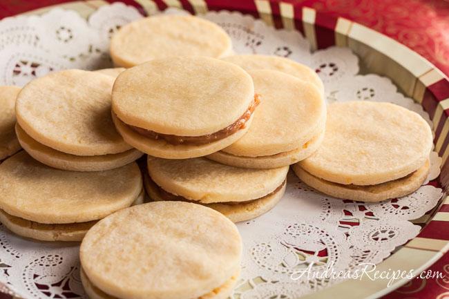 Andrea Meyers - Alfajores (Dulce de Leche Sandwich Cookies)