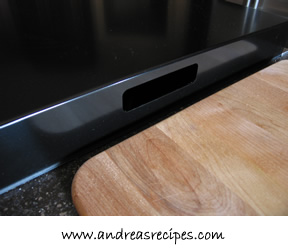Cooktop Cover Handle