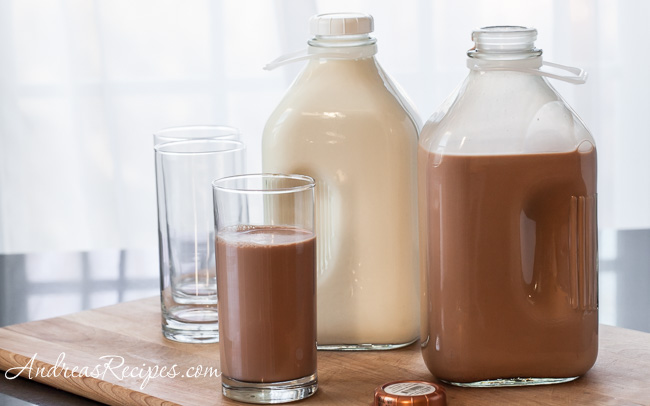 Whole Creamline Milk and Whole Chocolate Milk from Moo Thru - Andrea Meyers