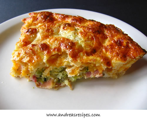 Andrea Meyers - Crustless Quiche