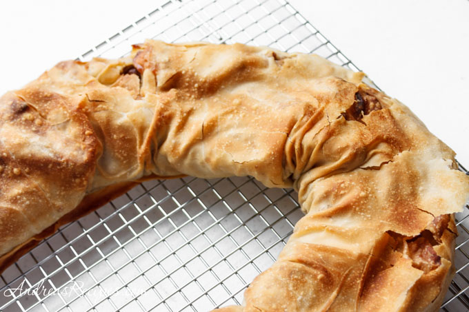 Andrea's Recipes - The Daring Bakers Make Strudel