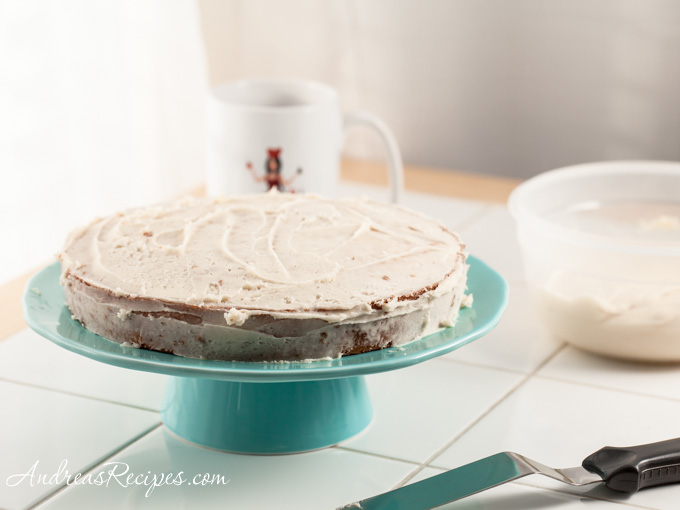 Caramel Cake with Caramelized Butter Frosting- Andrea Meyers