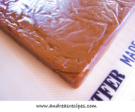 Andrea's Recipes - block of caramel