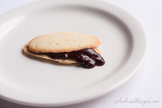 Andrea's Recipes - The Daring Bakers Make Milan Cookies