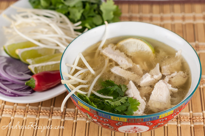 Andrea Meyers - The Daring Cooks Make Steamy Kitchen's Pho Ga