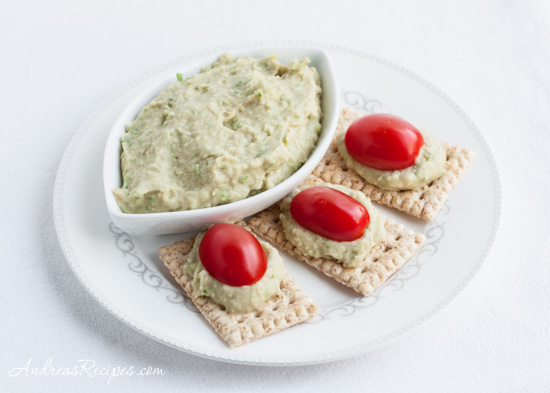 Andrea Meyers - Cannellini Bean Dip with Garlic Scapes