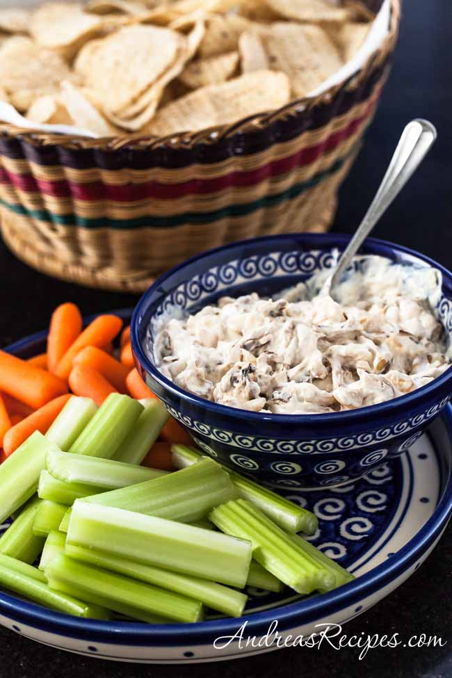 Andrea's Recipes - Caramelized Onion Dip