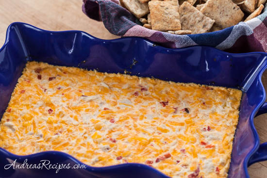 Baked Pimiento Cheese Crab Dip