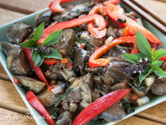 Andrea Meyers - Spicy Thai-Style Eggplant