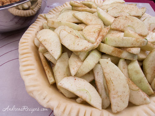 Andrea Meyers - French Apple Pie, apple filling