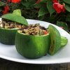 A Veggie Venture - Eight-Ball Stuffed Zucchini